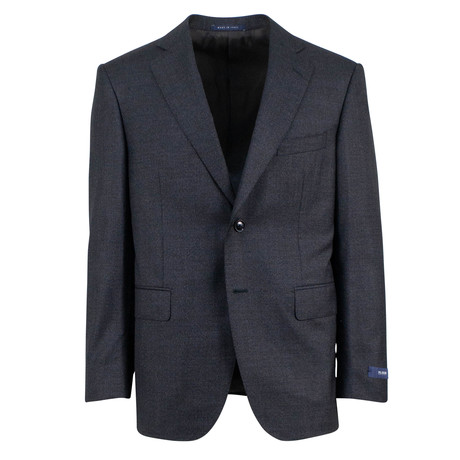 Pal Zileri // Wool 2 Button 3 Piece Suit // Blue (Euro: 46)