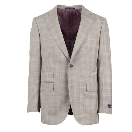 Pal Zileri // Plaid 2 Button Suit // Gray (Euro: 46)