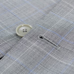 Pal Zileri Sartoriale // Plaid Wool 2 Button Suit // Gray (Euro: 46)