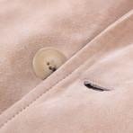 Pal Zileri Sartoriale // Tan Suede Jacket // Tan (Euro: 46)