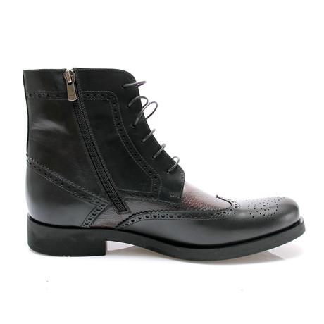 Brain Bouge Boot // Bordeaux Black (Euro: 40)