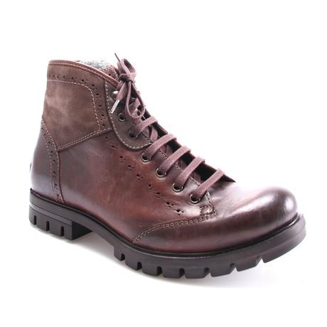 E. Goisto // Harry Casual Boot // Brown (Euro: 40)