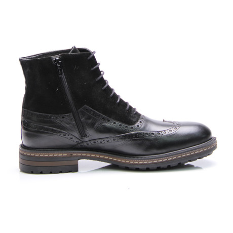 Wilford Wing Cap Boot // Black Antique (Euro: 40)