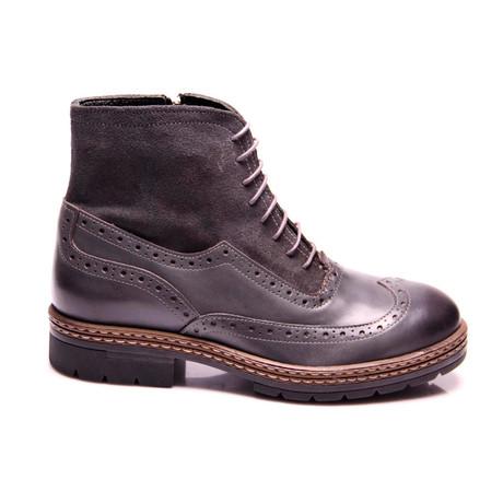 Ken Wing Cap Boot // Gray Antique (Euro: 40)