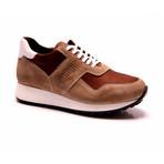 E. Goisto // Pedro Sneaker // Brown (Euro: 45)