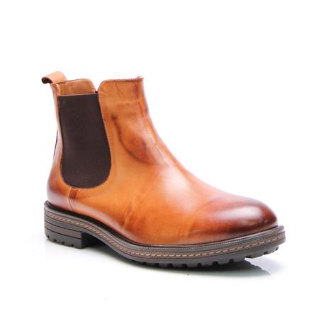 E. Goisto // Lanny Chelsea Boot // Antique Tobacco (Euro: 40)