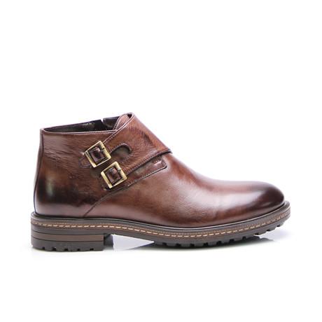Dwayne Monk Boot // Brown Antique (Euro: 40)