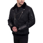 Multi Zipper Jacket // Black (XS)