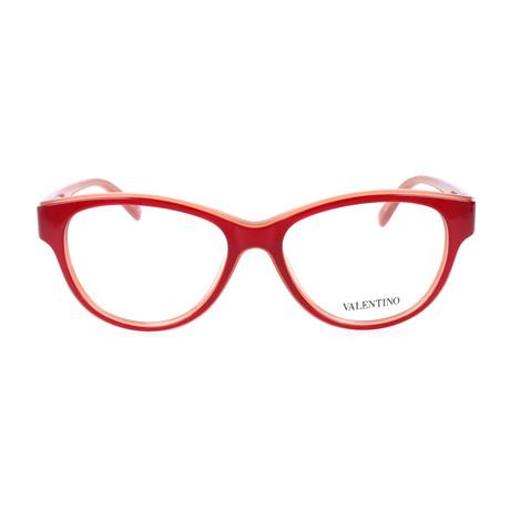 V2647-624 Frames // Red + Coral