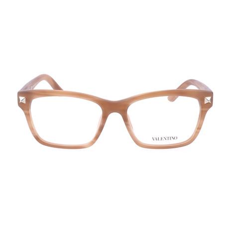 V2667-772 Frames // Matte Striped Honey