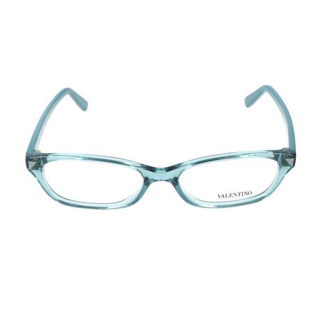 V2695-416 Frames // Transparent Petrol