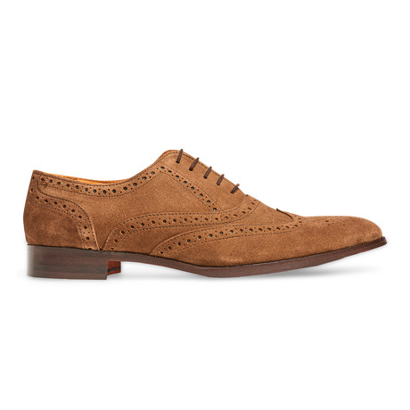 Soul Wingtip // Suede // Honey Brown (US: 7)