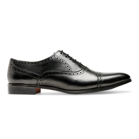 Legacy II Quarter Brogue // Black (US: 7)