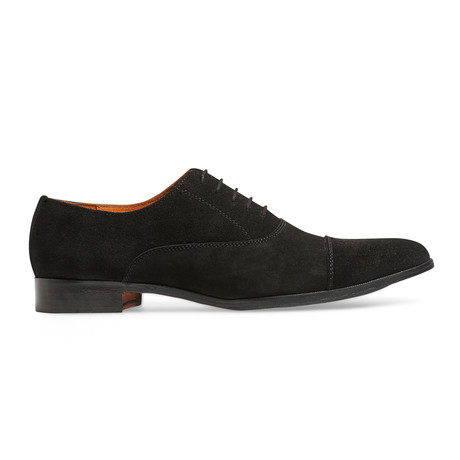 Legacy Cap-toe Oxford // Suede // Black (US: 7)