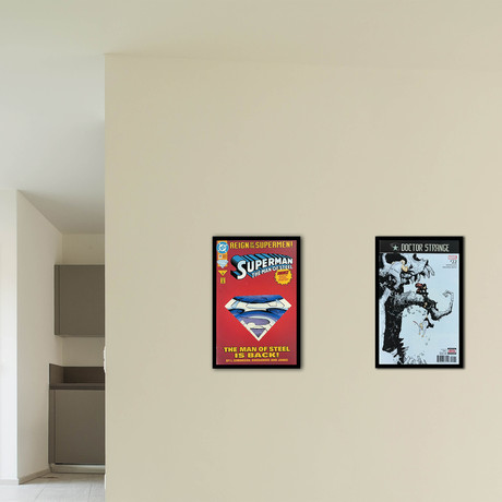 Superman, The Man Of Steel + Bonus Poster + Doctor Strange No. 22