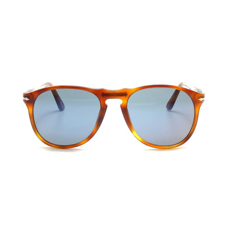 Iconic Sunglasses // Terra Di Siena + Blue Gray (52mm)
