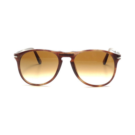 Iconic Sunglasses // Havana Smoke + Brown Gradient