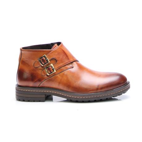 Augustus  Monk Boot // Tobacco Antique (Euro: 40)