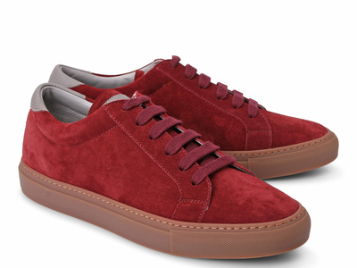Photo of Brunello Cucinelli Exemplary Designer Footwear Claude Fashion Sneaker // Plum (Euro: 41) by Touch Of Modern