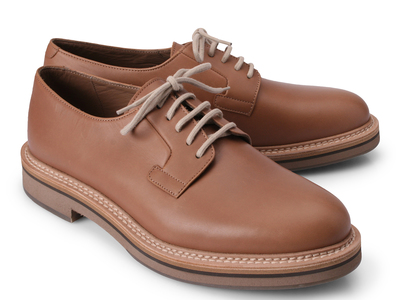 Photo of Brunello Cucinelli Exemplary Designer Footwear Enrico Lace Up Shoe // Beige (Euro: 45) by Touch Of Modern