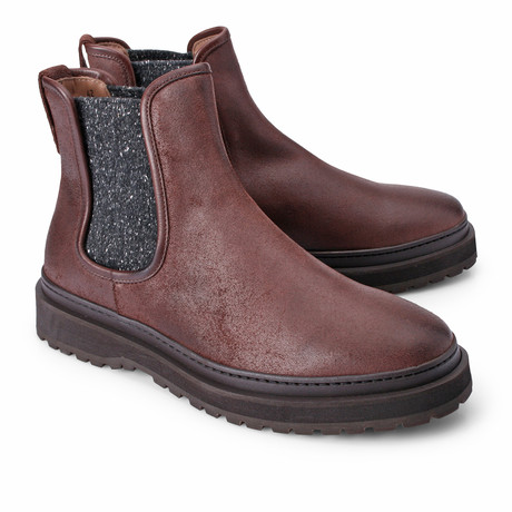 Louis Chelsea Boot // Burgundy (Euro: 39)