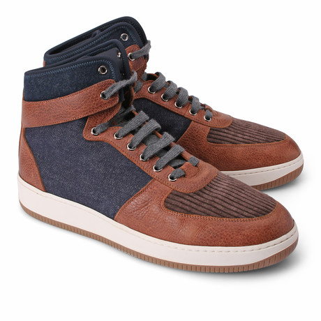 Thomas High Top Fashion Sneaker // Multicolor (Euro: 39)