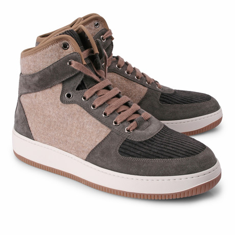 Christer Hi Top Fashion Sneaker // Multi (Euro: 39)
