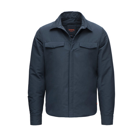 Motion Shirt Jacket // Navy (XS)