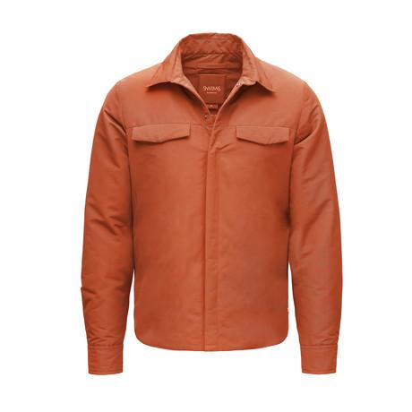 Motion Shirt Jacket // Picante (XS)