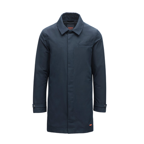 Motion Car Coat // Navy (XS)