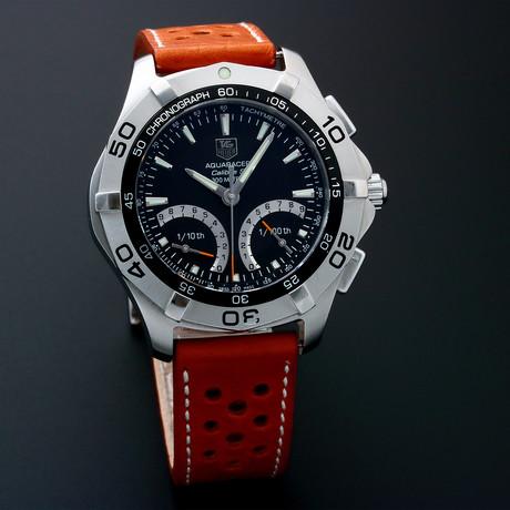 Tag Heuer Aquaracer Chronograph Quartz // CAF21 // Pre-Owned