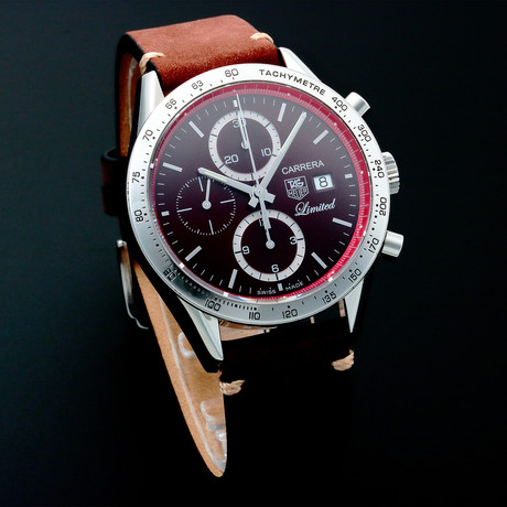 Tag Heuer Carrera Chronograph Automatic // CV201 // Pre-Owned