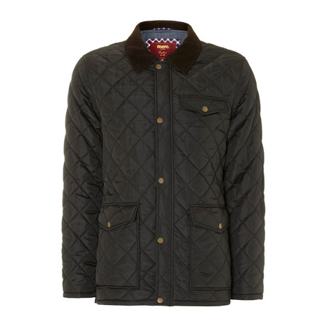 Alcester Quilted Jacket // Black (XS)
