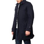 Lidgard Mac Coat // Navy (2XL)