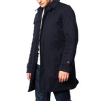Lidgard Mac Coat // Navy (M)