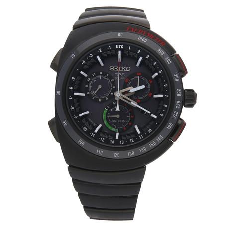 Seiko Astron GPS Solar Chronograph Giugiaro Quartz // SSE121 // Pre-Owned