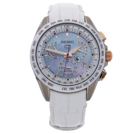 Seiko Astron GPS Solar Dual Time Quartz // SSE063 // Pre-Owned