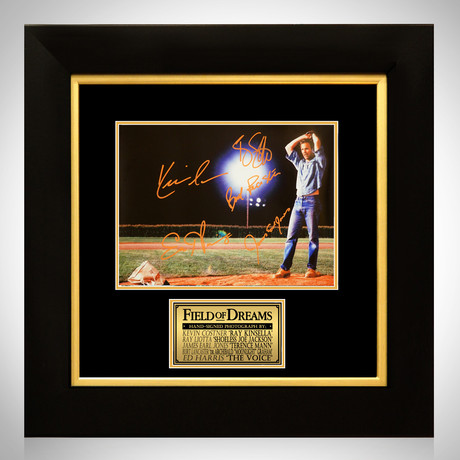 Field Of Dreams // Cast Signed Mini-Poster // Custom Frame