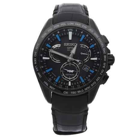 Seiko Astron GPS Solar Dual Time Quartz // SSE067 // Pre-Owned