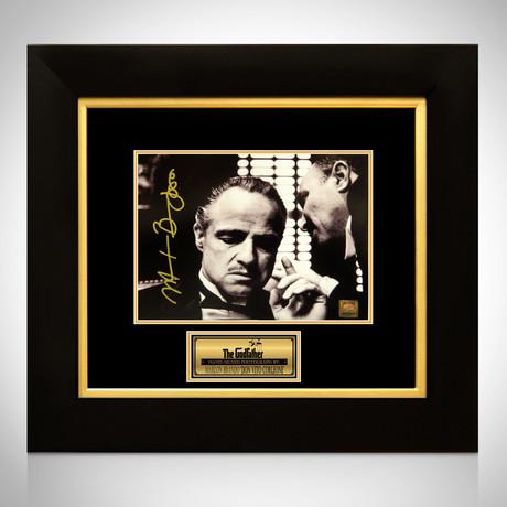 Godfather Vito Corleone // Marlon Brando Signed Photo // Custom Frame