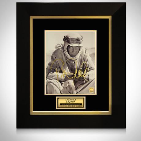Lawrence Of Arabia // Peter O'Toole Signed Photo // Custom Frame