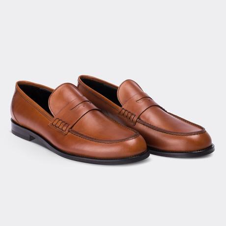 Spencer Loafer Moccasin Shoes // Brown (Euro: 38)