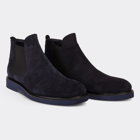Errol Classic Shoes // Navy Blue (Euro: 38)