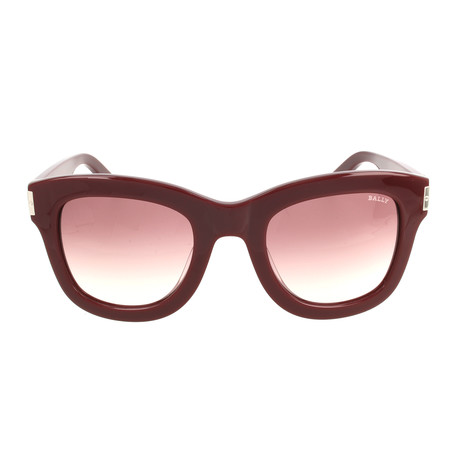BY2037A23 Women's Sunglasses // Burgundy