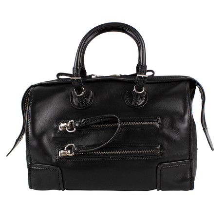 Valentino // Small Leather Duffel Bag // Black