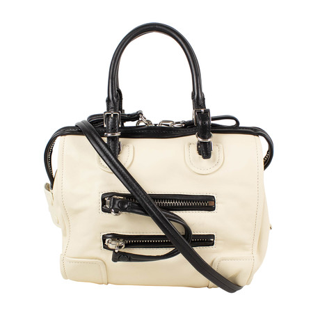 Valentino // Small Leather Duffel Bag // Ivory