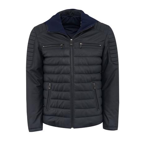 John Leather Jacket // Black (L)
