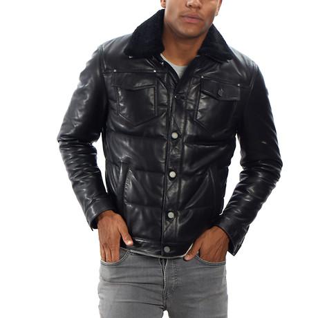 Jacob Leather Jacket // Black (S)