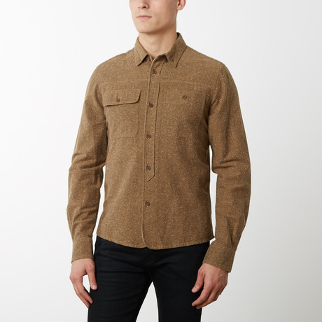 Grindstone Shirt // Brown (S)