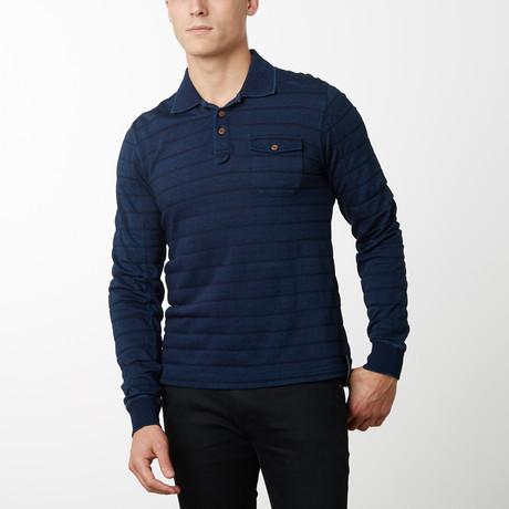 Atlantic Long Sleeve Pullover // Navy (S)